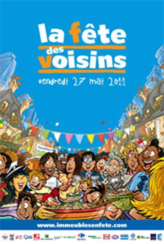 Evènement Dijon : La fête des voisins – Immeubles en fête