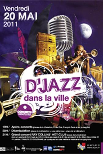 Festival Dijon : D'jazz dans la ville