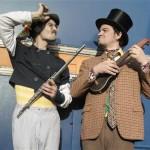 Spectacle Tifondu et Grandubec au bistrot de la scène