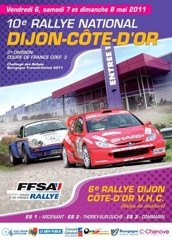 Sport Dijon : 10ème rallye national de Dijon