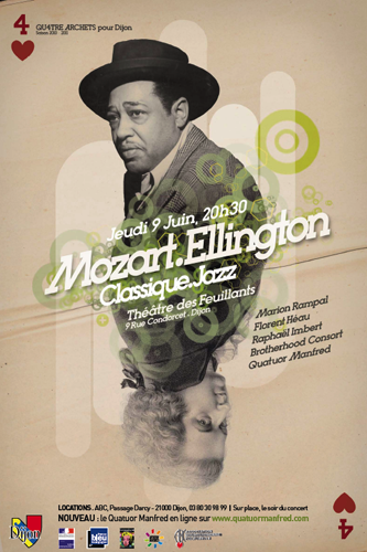 Concert Dijon : Mozart / Ellington