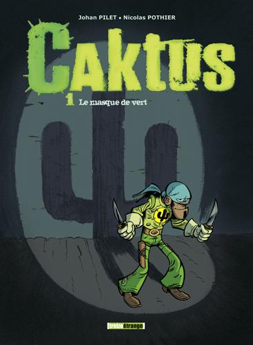 Dédicaces de la BD «Caktus» à la librairie Grangier !