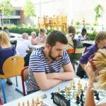 Jeu d'échecs découverte à Dijon