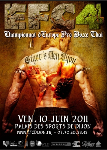Sport Dijon : European Fighting Championship 4