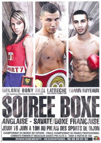 Sport Dijon : Gala Dijon Boxe
