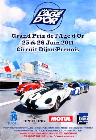 Sport Dijon : Grand Prix de l'Age d'Or 2011
