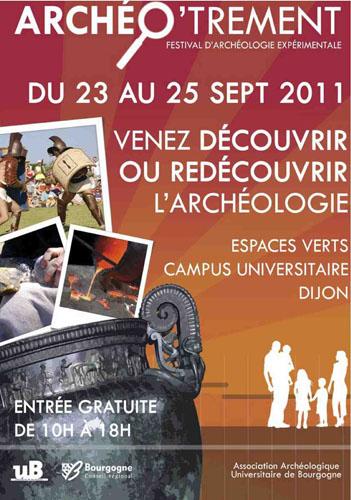 Activité Dijon : ArchéO'trement – l'expérimentation archéologique