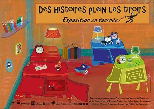 Exposition Dijon : Des histoires plein les tiroirs !
