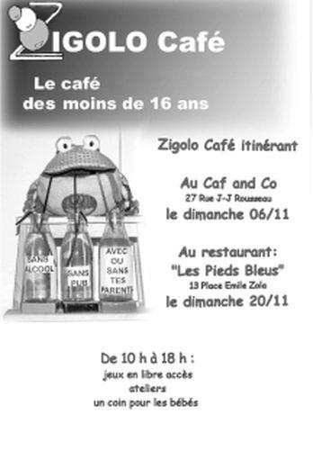Activité Dijon : Le Zigolo Café