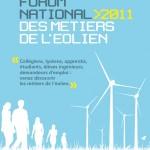 Forum national 2011 des métiers de l'eolien à Dijon