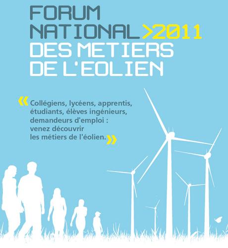 Evènement Dijon : Le Forum national des métiers de l'éolien