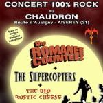 Concert 100% Rock au Chaudron