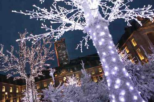 Evènement Dijon : Lancement des illuminations de Noël / Inauguration du village des neiges