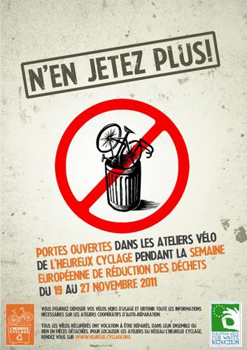Evènement Dijon : «N'en jetez plus !» – Portes ouvertes des ateliers du vélo