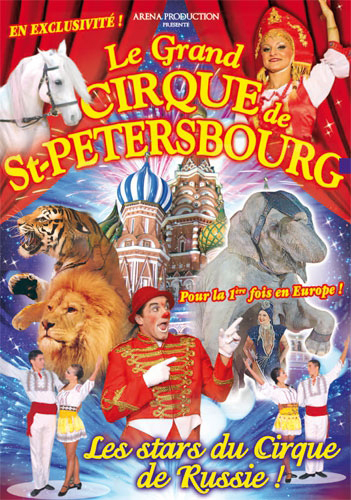 Spectacle Dijon : Le Grand Cirque de Saint-Petersbourg