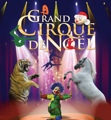 Evènement Dijon : Grand cirque de Noël