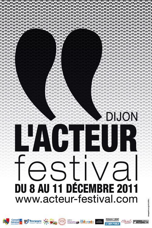 Festival Dijon : L'Acteur Festival