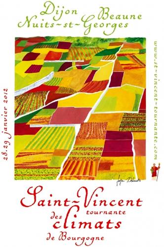 Evènement Dijon : La Saint-Vincent Tournante des Climats