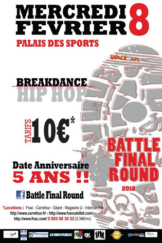Spectacle Dijon : Battle Final Round 5