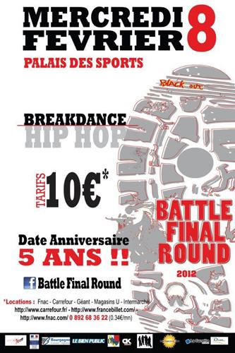 Spectacle Dijon : Battle Final Round 5