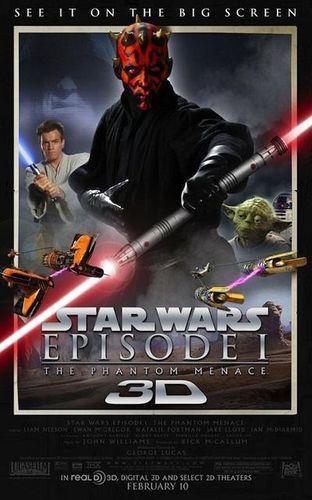 Cinéma Dijon : Star Wars – Episode 1 – La menace fantôme en 3D