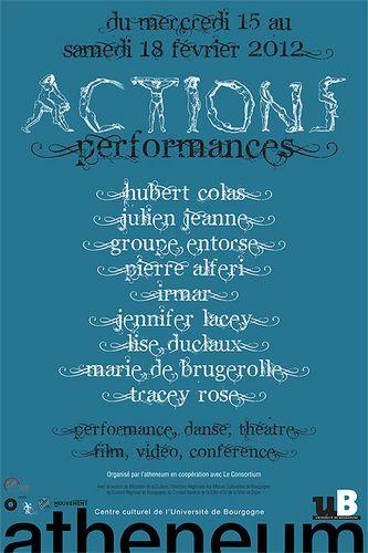 Festival Dijon : Actions Performances