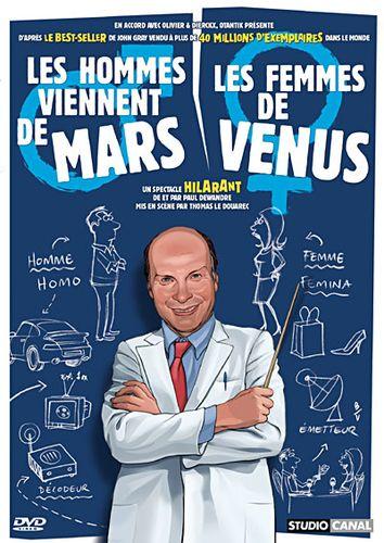 Spectacle Dijon : Les hommes viennent de Mars, les femmes de Vénus