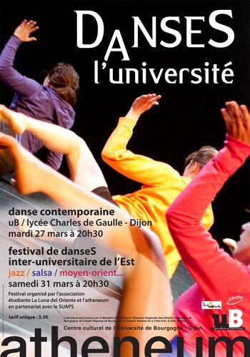 Evènement Dijon : Danses à l'Université