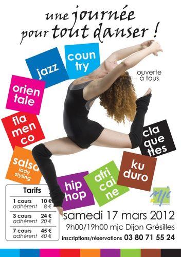 Evènement Dijon : Une journée pour tout danser