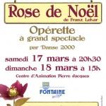 Spectacle Rose de Noel à Fontaine-les-Dijon