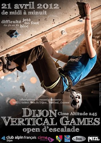Sport Dijon : Vertical Games 2012