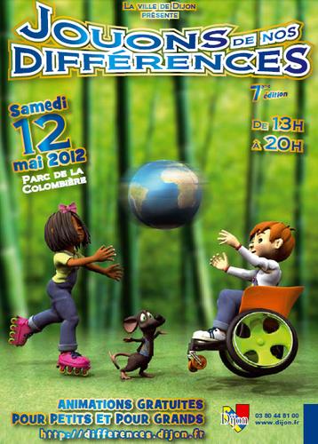 Activité Dijon : Jouons de nos différences 2012