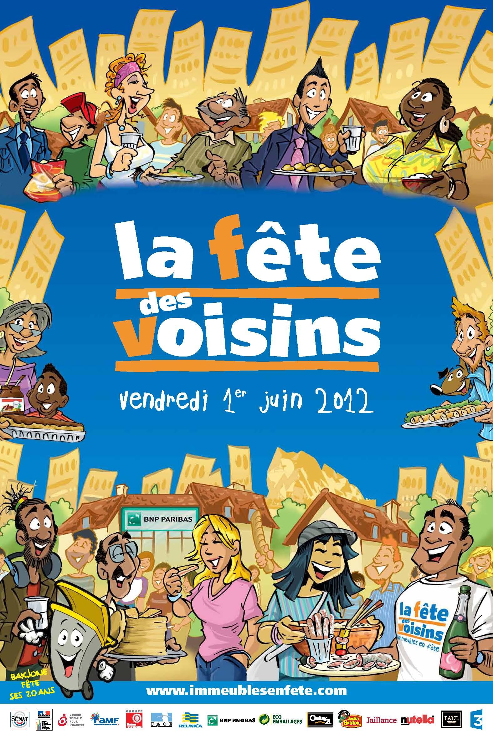 Evènement Dijon : La Fête des Voisins 2012