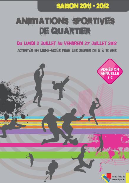 Activité Dijon : Animations sportives de quartier