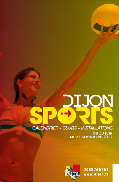 Activité Dijon : Dijon sports juin / septembre