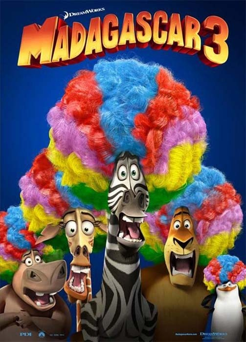 Cinéma Dijon : Madagascar 3