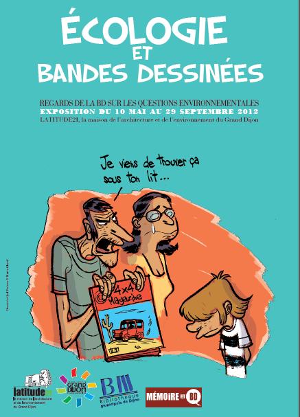 Exposition Dijon : Ecologie et bande dessinées