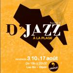 Dijon Concert : D'jazz à la plage
