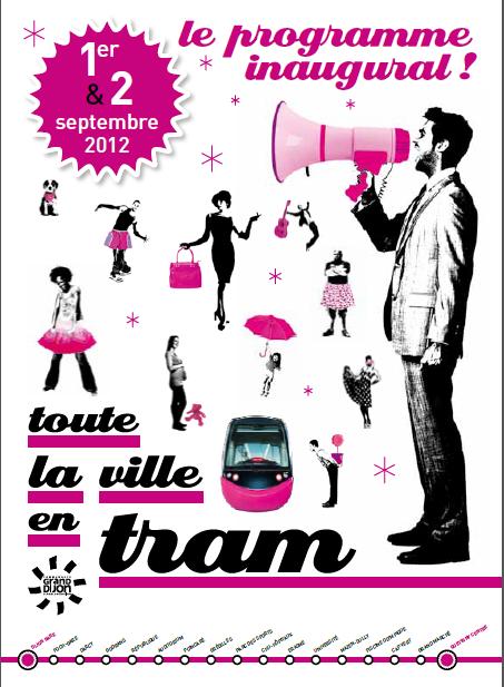 Evènement Dijon : Inauguration du tram !