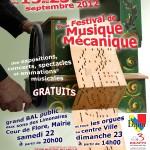 Dijon Festival International de Musique Mécanique 2012