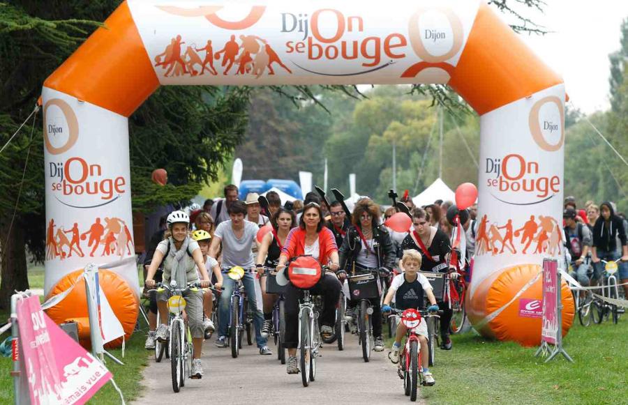 Evènement Dijon : Vélotour 2012