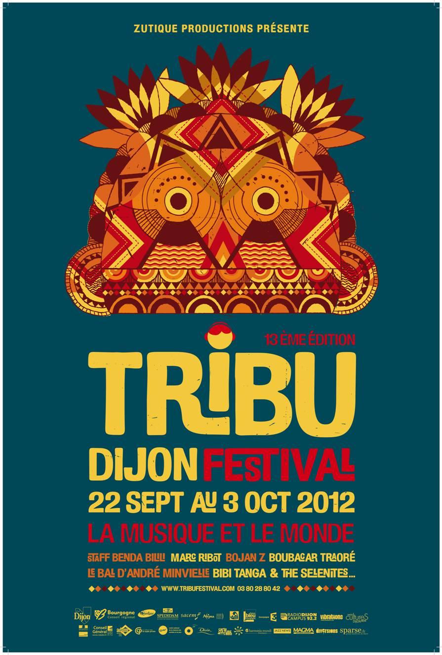 Festival Dijon : Tribu Festival 2012