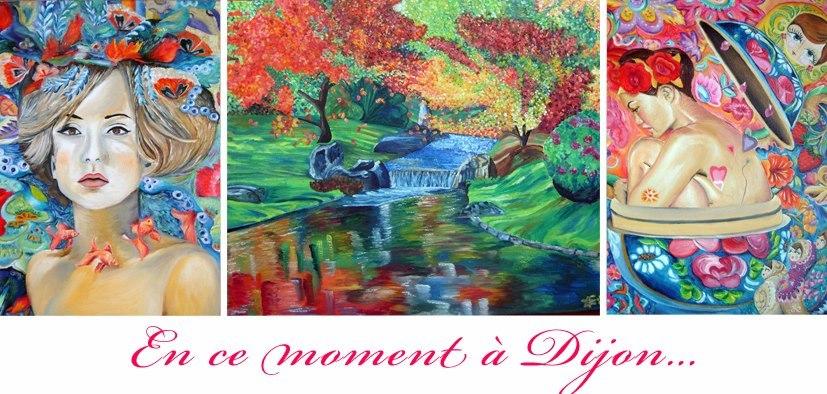 Exposition Dijon : Les peintures d'Elo