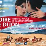 Dijon évènement : Foire Internationale et Gastronomique 2012