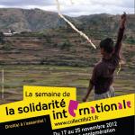 Dijon évènement : Semaine de la solidarité internationale