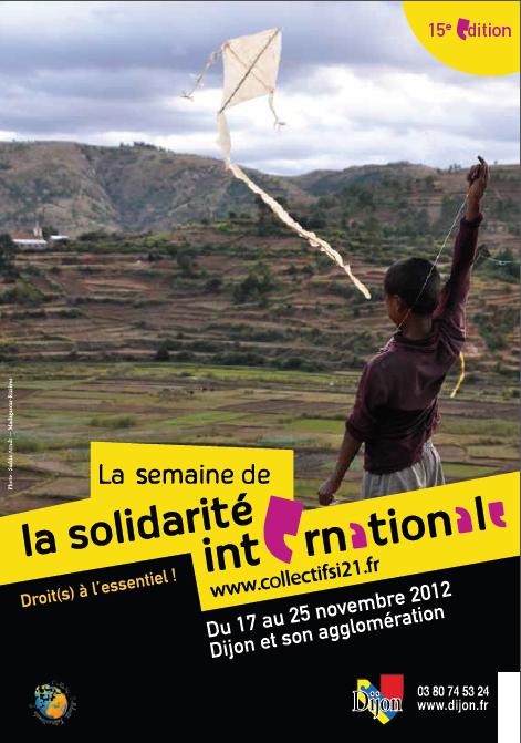 Evènement Dijon : 15ème Semaine de la solidarité internationale (2012)