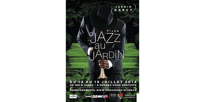 Dijon : D'Jazz au Jardin Darcy du 14 au 19 juillet 2014 – (Gratuit)