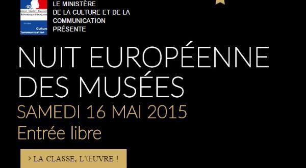 16 mai 2015 : Programme de la «Nuit des Musées» en Côte-d'Or